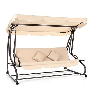 Ikayaa Garden Swing Chair Patio Swing Chair Outdoor Swing Chair
