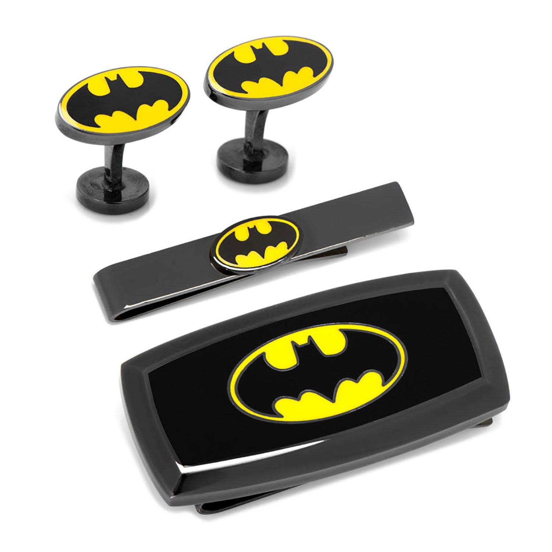 Batman Transparent Enamel 3-Piece Gift Set by DC Comics Cufflinks