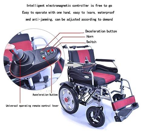 Amazon.com: Dean - Andador eléctrico plegable, ligero, de ...