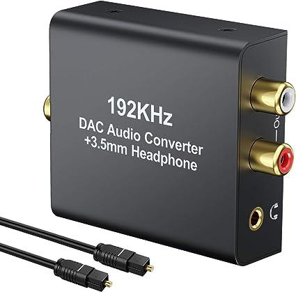 USB Digital Optical Coax to Analog Audio Converter DAC USA Seller Fast Shipping