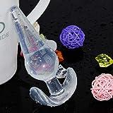 YLU 4Pcs Silicone Plug Set Toy Training Kit Suction Beads