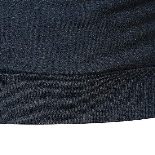 Sport Hoodie Sweat Sanfashion Marine Longue Capuche Pulls Classique Slim A Casual Homme Manche Fit d16wx40qXw