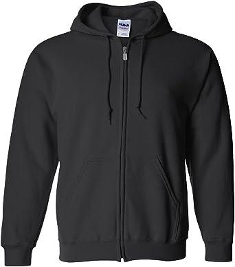 Heavy Blend  Adult Full Zip Hooded Sweatshirt 18600