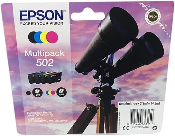 Druckerpatronen Für Epson Expression Home Xp5100 Xp5105 Workforce Wf2860dwf Wf2865dwf Multipack Bürobedarf Schreibwaren