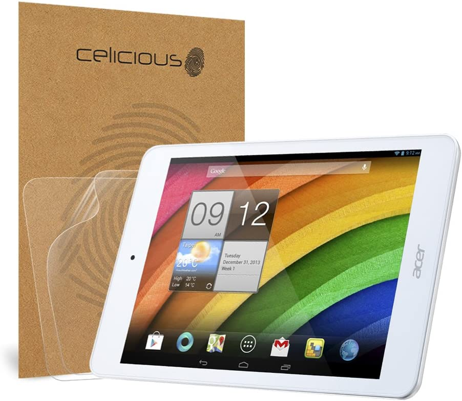 Celicious Privacy Plus 4-Way Anti-Spy Filter Screen Protector Film Compatible with Acer Iconia A1-830