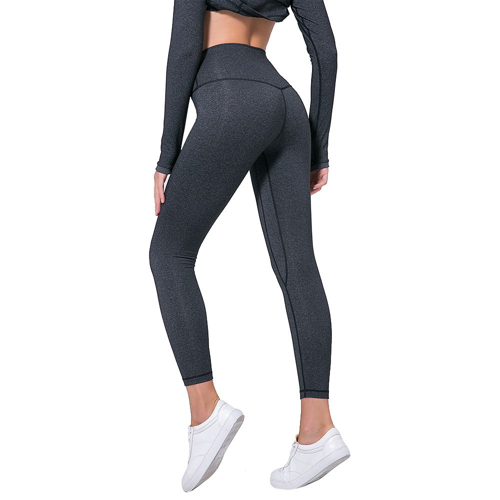 BEEMEN Women's Yoga Pants High Waisted Workout Leggings Tummy Control Stretch Compression Yoga Leggings with Hidden Pockets
