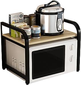 ALF Microwave storage rack Kitchen shelves, microwave ovens, household appliances, multi-purpose kitchen storage shelves Kitchen shelf (Color : A)