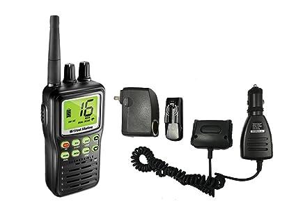 Amazon com: West Marine VHF85 Handheld VHF Two-Way Radio Transceiver