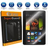 """[2-PACK] For Kindle Fire HDX 7"""" (3rd Gen, 2013 Release) - SuperGuardZ Tempered Glass Screen Protector, 9H, 0.3mm, 2.5D Round Edge, Anti-Scratch, Anti-Bubble"""