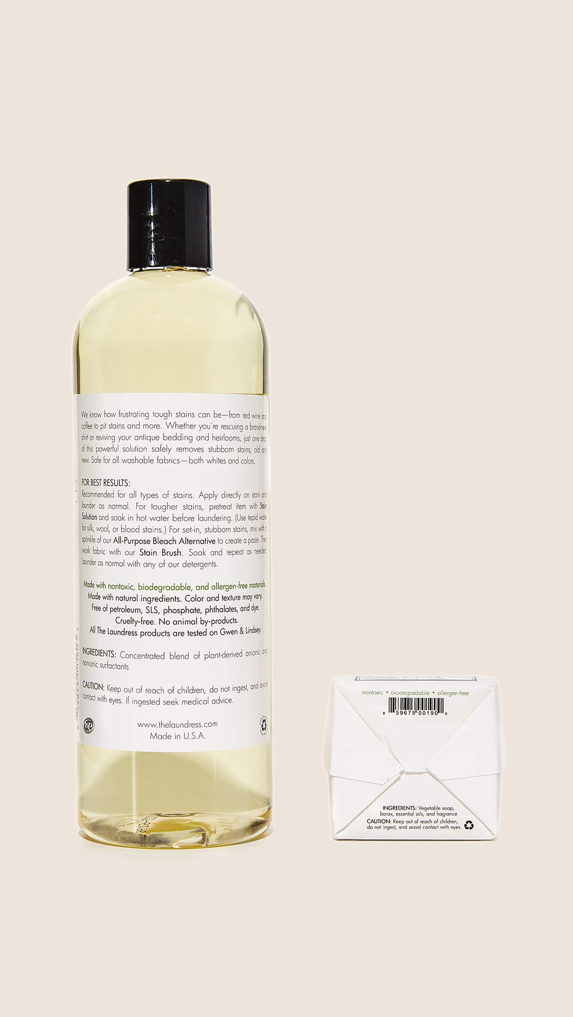 The Laundress Women's Stain Removal Kit, Black/White, One Size by The Laundress (Image #3)