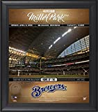 "Milwaukee Brewers Framed 15"" x 17"" Welcome to the Ballpark Collage - Fanatics Authentic Certified - MLB Team Plaques and Collages"
