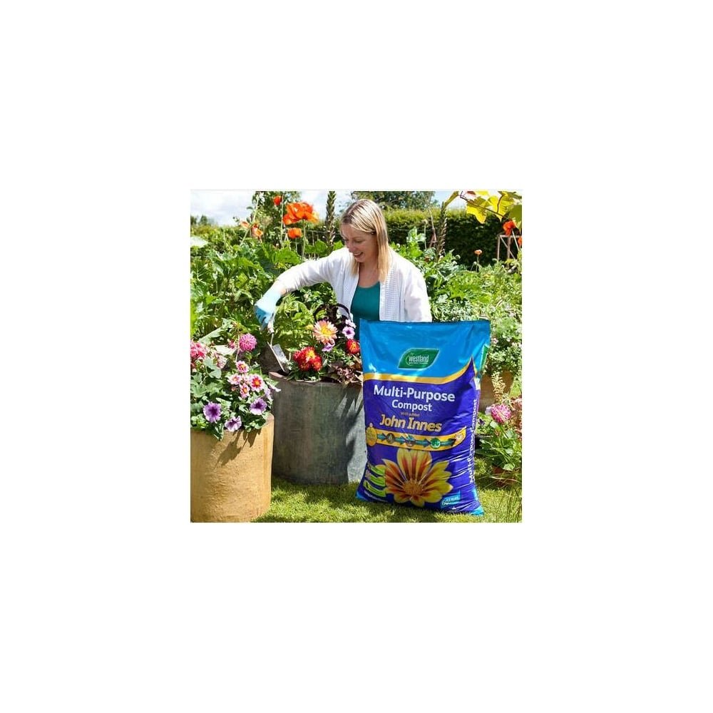 Image for westland multi purpose compost with john innes 50l from - Westland 10l Multi Purpose With John Innes Amazon Co Uk Garden Outdoors
