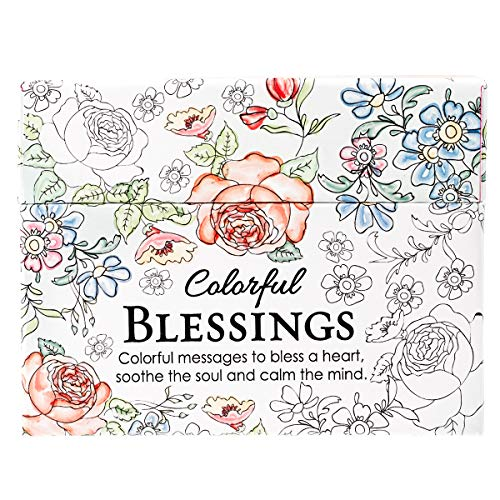 Colorful Blessings: Cards to Color and Share ()