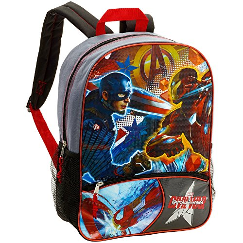 Price comparison product image 16 Marvel Captain America Civil War Full Size Backpack