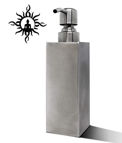 Buddha imports Stainless Steel Soap Dispenser Bottle, Hand Soap Dispenser  Pump Bottle for Essential Oils, Lotions, Liquid Soaps, Shampoo Shower Gel  ...