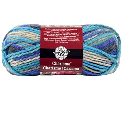 Amazon com: Loops & Threads Charisma Yarn 1 ball Cascade 3 5