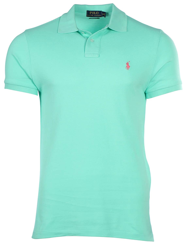 Ralph Lauren Polo Hombre Corte Clásico Malla Pony shirttyler Verde ...