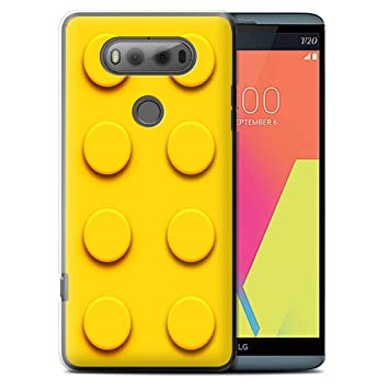 Stuff4 Phone Case/Cover for LG V20 F800/H990/VS995 / Yellow Design/Toy  Bricks/Blocks Collection