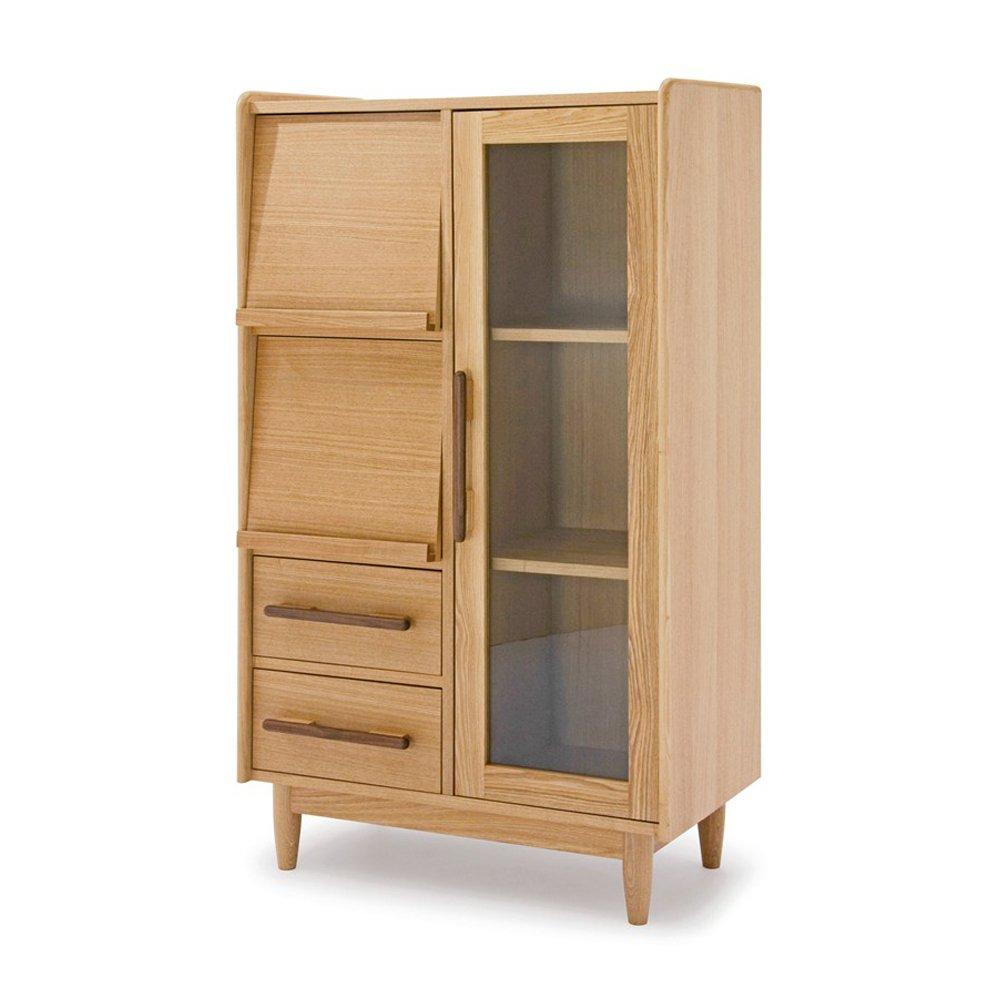 NEOWISER Massivholz Kommode Schubladen Sideboard Möbel Wohnzimmer