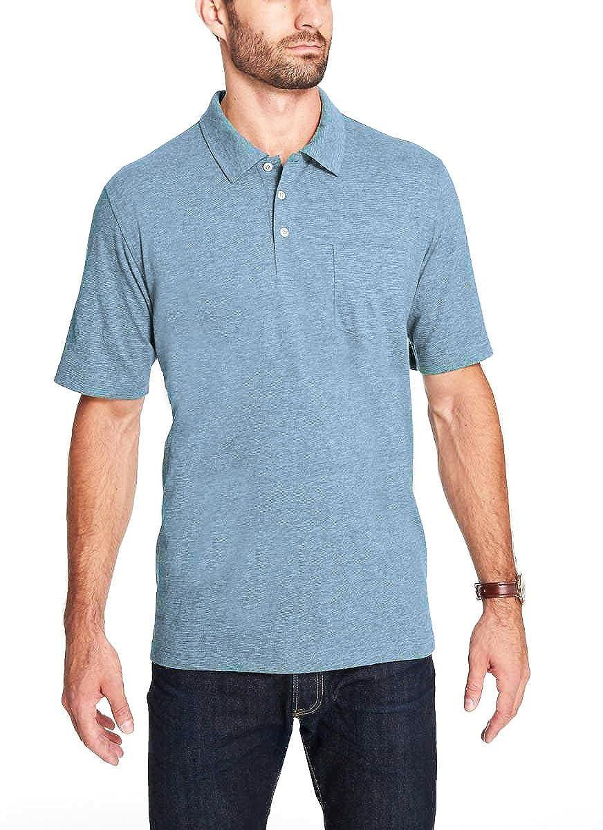 Weatherproof Vintage Men's Brushed Cotton Polo Shirt