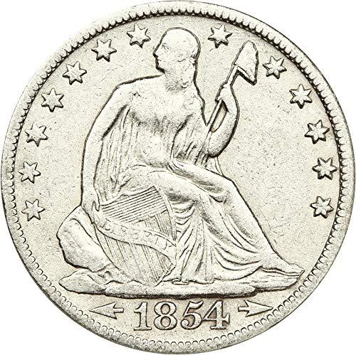 1854 O Liberty Seated Half Dollars Arrows Half Dollar AG0 NGC