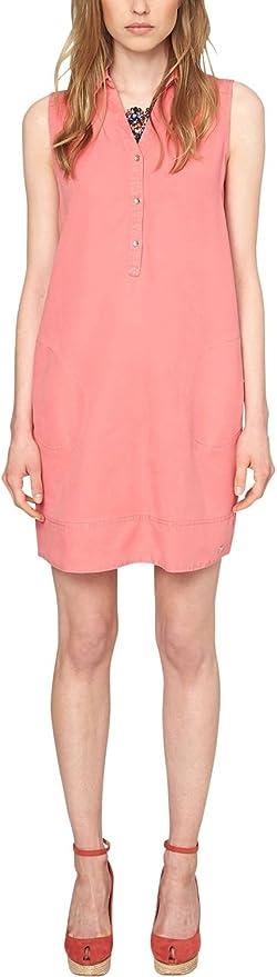 s.Oliver in Tencelqualität - Camisa para Mujer, Color Rosa (Salmon 4282), Talla 36/XS: Amazon.es: Ropa y accesorios