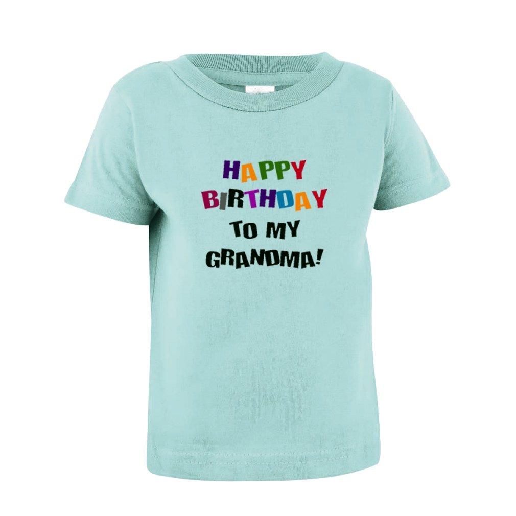 Amazon Speedy Pros Happy Birthday To Grandma Toddler Baby Kid T Shirt Tee Chill 7T Clothing