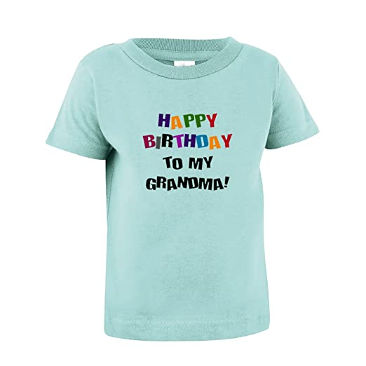 Amazon Speedy Pros Happy Birthday To Grandma Toddler Baby Kid T Shirt Tee Chill 7T Clothing