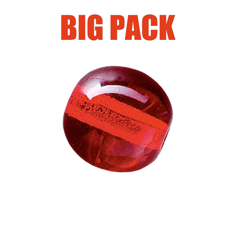Stollenwerk Team Angeln Inhalt 100 St. Glasperlen Rund Klar 8mm Big Pack