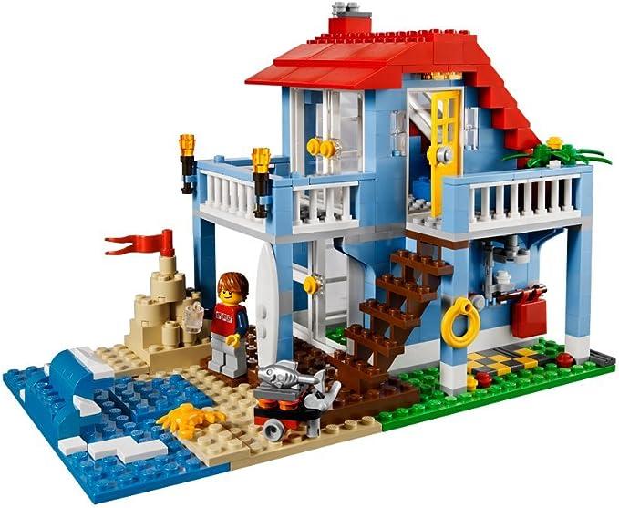 Lego Creator 7346 Jeu De Construction La Maison De La Plage Amazon Fr Jeux Et Jouets