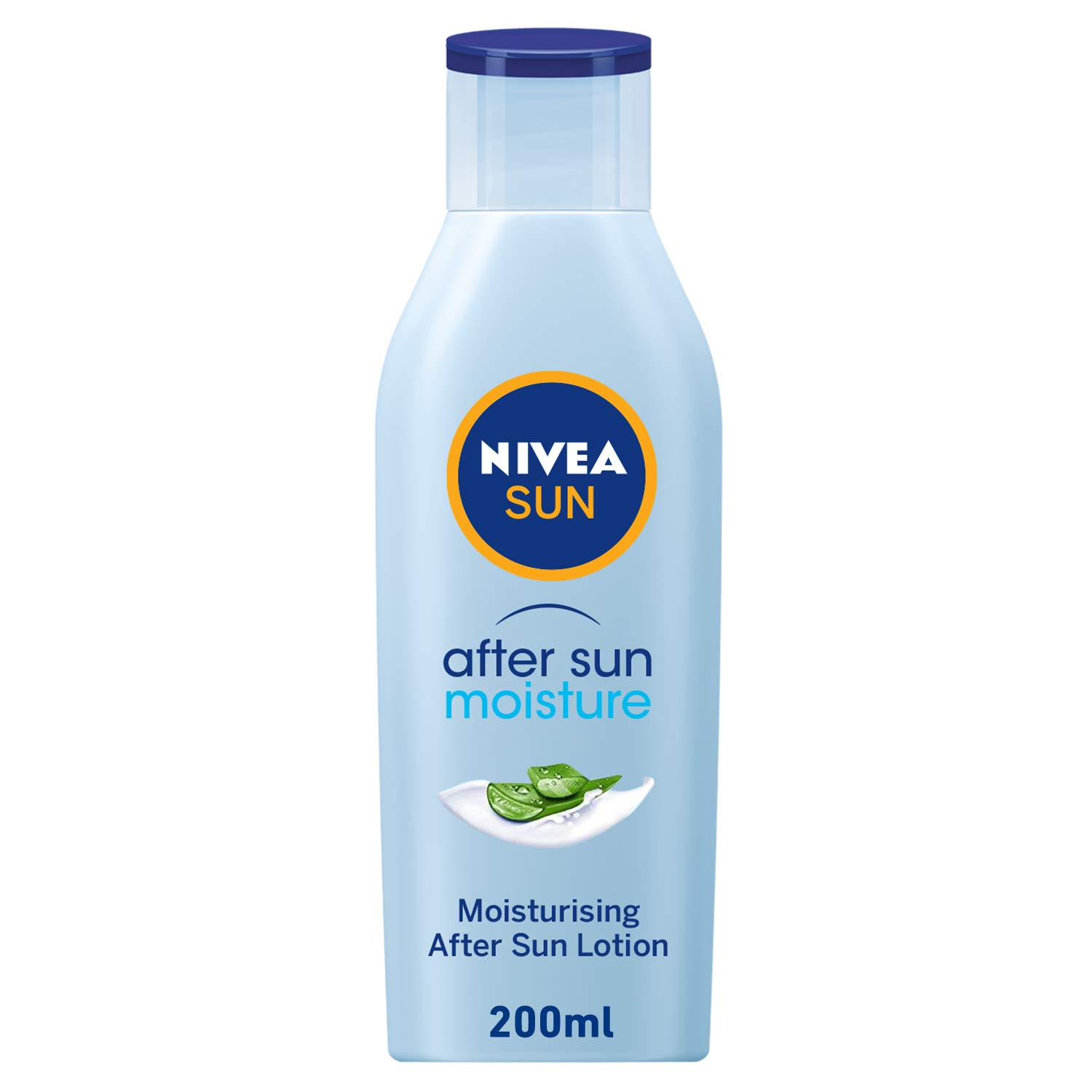 Nivea Sun Moisturising After Sun Lotion With Aloe Vera Silky Skin Feeling 200ml Beauty