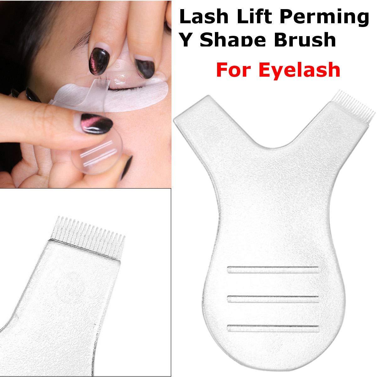 Eye shadow applicators 20/30/50pcs Eyelash Brush Eye Lash Y Shape Make Up Clean Wands Applicator For Eyelash Perming Curler Eyrlashes Extension Tool