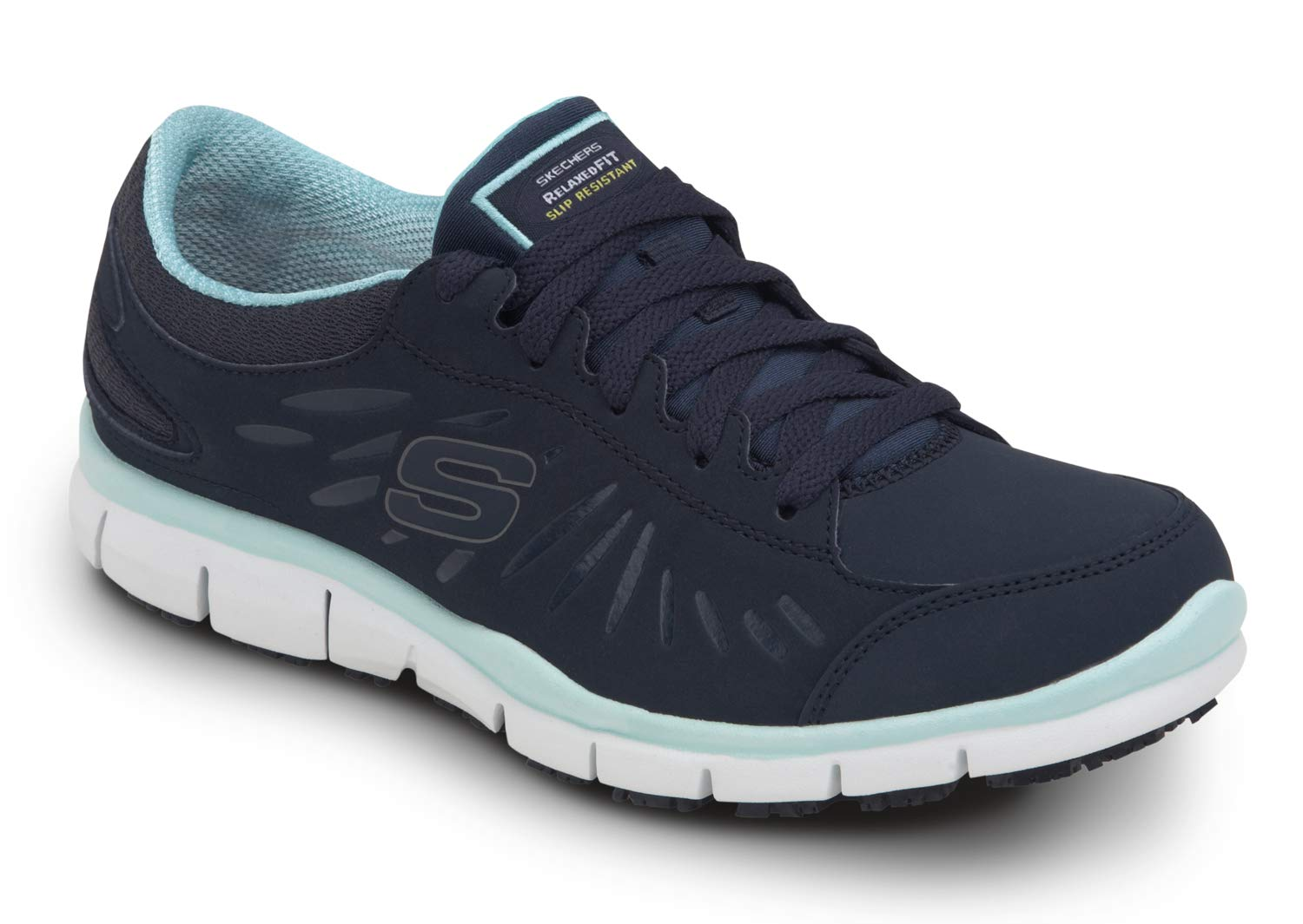 Skechers Work Stacey - Women's Soft Toe Slip Resistant Low Athletic