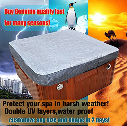 Dynasty Spas (hot tub cover guard& cap,spa bag from 6-13f fits dynasty,arctic,vita,master spa (cutomize less than 7f))