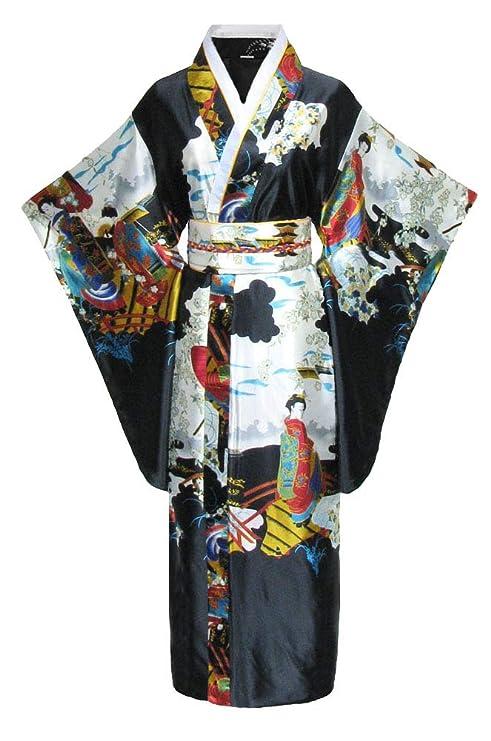 Kimono Japonais Homme Coton Japonaise pour Yukata Japonais y Compris Les v/êtements pour Hommes Robe de Chambre Robe de Guerrier Tenue en Coton Lin