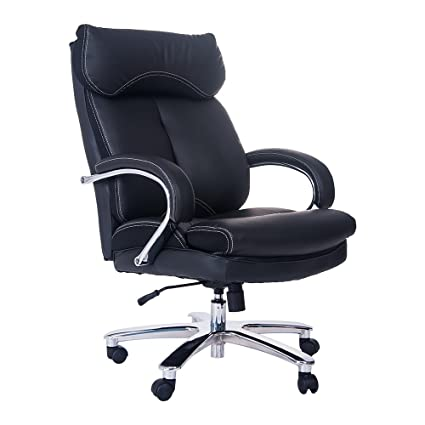 merax deluxe series big and thick padded heavy duty office chair with big steady base - Heavy Duty Office Chairs