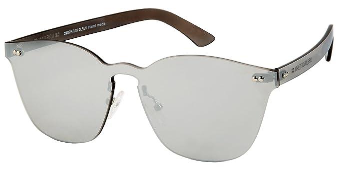 Gafas de Sol Pantalla unisex rígida de 1 solo material ...