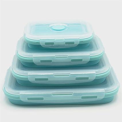 nouveau concept a10a6 ce9d8 smartrich Boîte alimentaire rétractable en silicone Avec ...