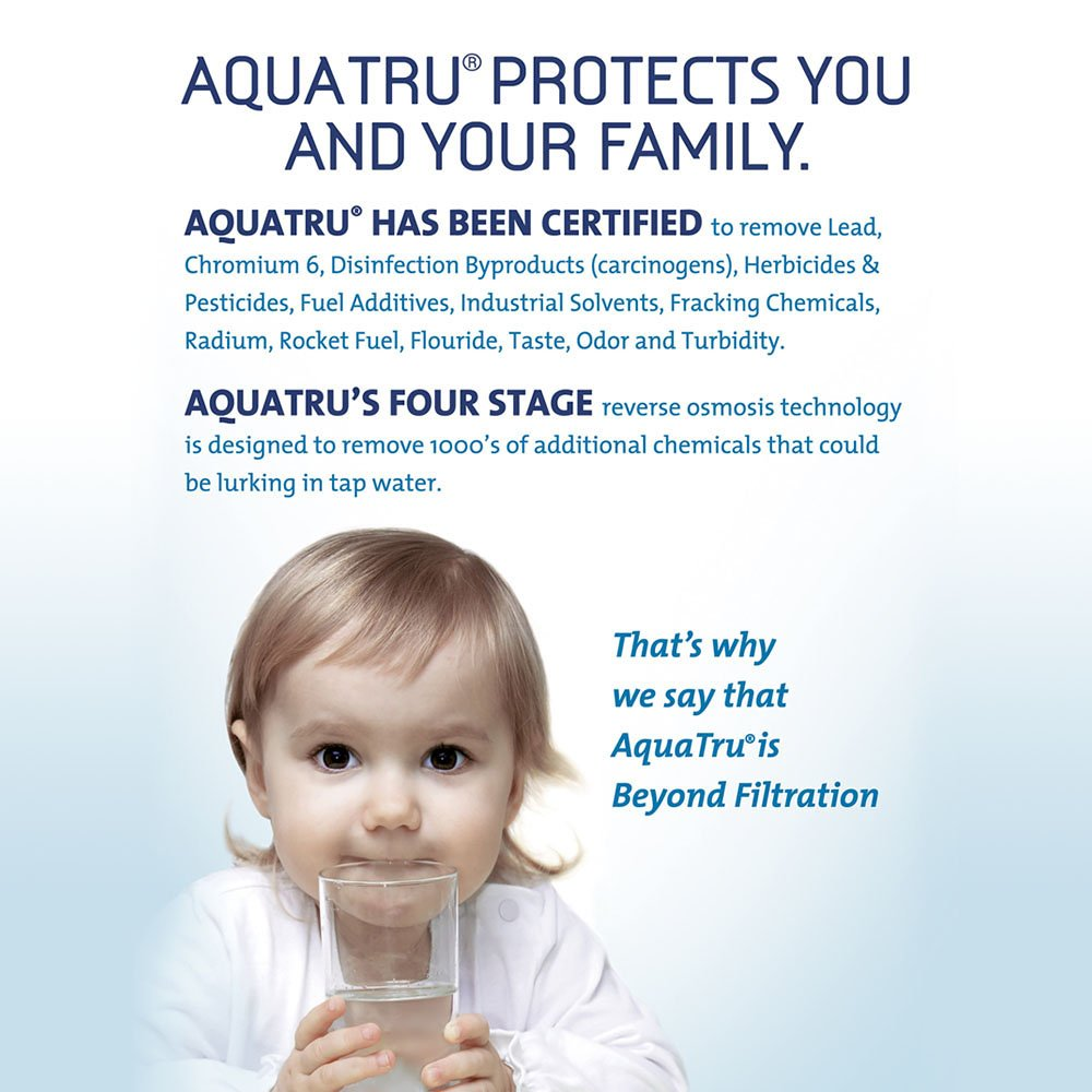 AquaTru Countertop Water Filter Purification