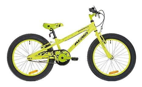 Bicicletta Fat Bike Da Bambino Atala Snowball Giallo Fluo Opaco 1
