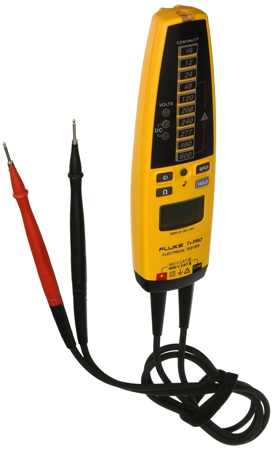 Fluke T Pro Electrical Tester With A Nist Traceable Calibration Tools Home Improvement Testers Voltage Certificate Data Industrial Scientific