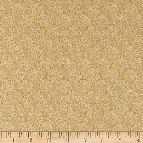 - Andover Cambridge Clouds Fabric, Cream, Fabric By The Yard