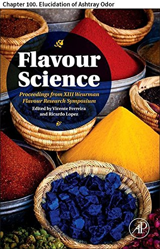 Flavour Science: Chapter 100. Elucidation of Ashtray ()