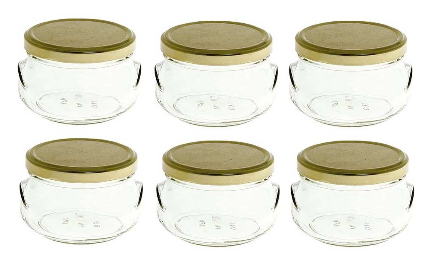 Amazon.com: Nakpunar 6 pcs, 6.75 oz Tureen Glass Jars for Candles ...