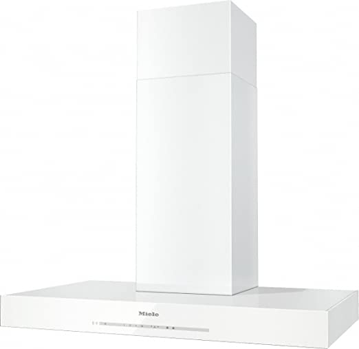 Miele DA 6690 W BRWS De pared Blanco 490m³/h - Campana (490 m³/h, Canalizado/Recirculación, 640 m³/h, 45 cm, 65 cm, De pared): Amazon.es: Hogar