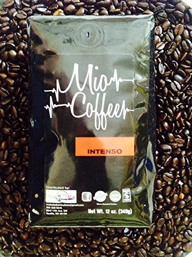 Intenso Whole Bean - Mio Coffee - Intenso Whole Bean Coffee ; 12oz