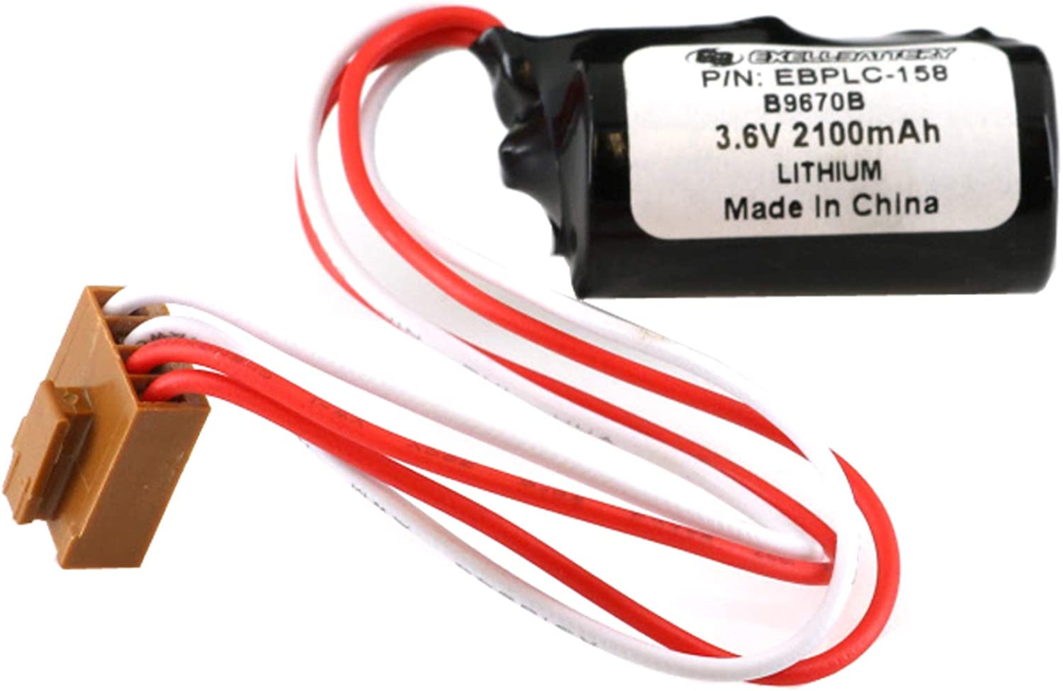 Omron CJ1H Replacement Battery 3.6v//1000mah for PLC/'s