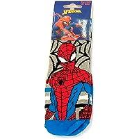 Suncity Calcetines antideslizantes de Spiderman Avengers grises 23/26