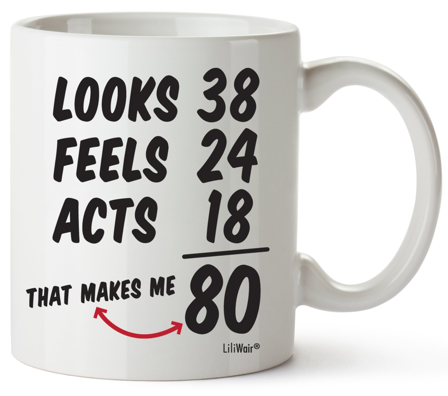 80th Birthday Gifts For Women Eighty Years Old Men Gift Mugs Happy Funny 80 Mens Womens Womans Wifes Female Man Best Friend 1939 Mug Male Unique Ideas 39