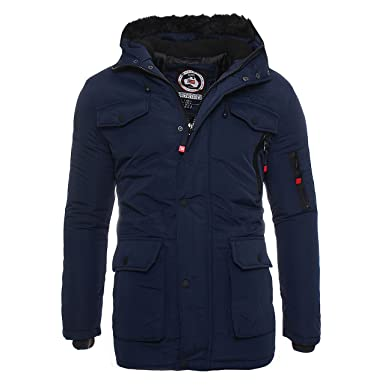 newest 06f12 56189 Geographical Norway ADN Parka Winter Leichte Jacke Outdoor ...